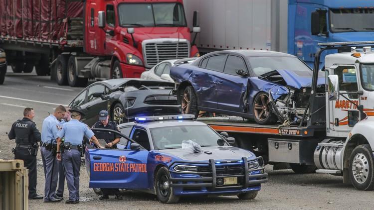 truck car wreck Georgia